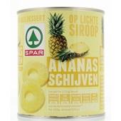 Spar Ananasschijven Op Siroop voorkant
