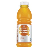 Sourcy Vitaminewater Mango/Guave voorkant