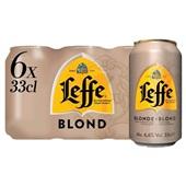 Leffe bier blond voorkant