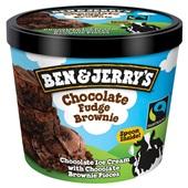 Ben&Jerry choco fudge brownie voorkant