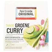 Fair Trade Kruidenpasta Groene Curry voorkant