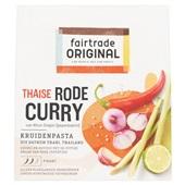 Fair Trade Kruidenpasta Rode Curry voorkant
