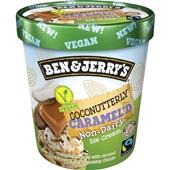 Ben&Jerry non-dairy coconut caramel voorkant