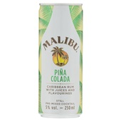 Malibu pina colada  voorkant