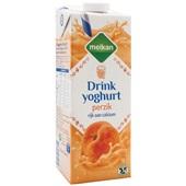 Melkan drinkyoghurt  perzik voorkant