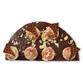 Spar chocoladevlaai half voorkant
