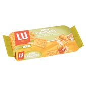 Lu Crackers Mini Olijf Oregano achterkant