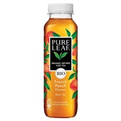 Pure Leaf ice tea bio peach voorkant