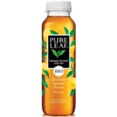 Pure Leaf ice tea bio lemon voorkant