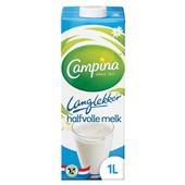 Campina  halfvolle melk  lang lekker voorkant