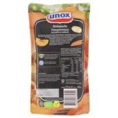 Unox Biologisch Soep In Zak Pompoen achterkant