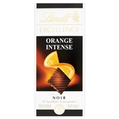 Lindt intense orange tablet  voorkant