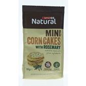 Spar mini corn cakes rozemarijn voorkant