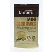 Spar mini corn cakes olive  voorkant