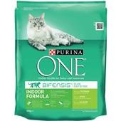 Purina ONE Kattenvoer Indoor Rijk Aan Kalkoen En Granen voorkant