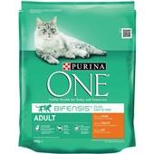 Purina ONE Kattenvoer Adult Rijk Aan Kip En Granen voorkant