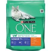 Purina ONE Kattenvoer Senior Rijk Aan Kip En Granen voorkant