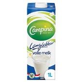 Campina volle melk lang lekker voorkant