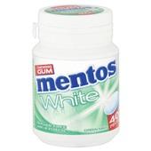 Mentos Kauwgom Gum White Green Mint, Pot 40 Gums achterkant