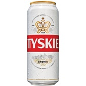 Tyskie Bier Grinie Blik 50 Cl voorkant