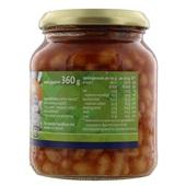 Bio+ Witte Bonen In Tomatensaus achterkant