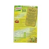 Knorr Vleesjus Triopak achterkant