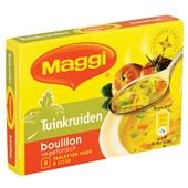 Maggi Bouillon Tuinkruiden achterkant
