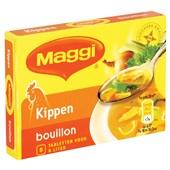 Maggi Bouillon Blok Kip 4 L achterkant
