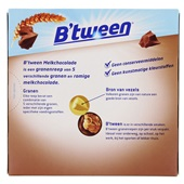Hero B'Tween Melkchocoladerepen achterkant