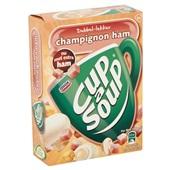 Unox Cup-a-Soup Soep Champignon/Ham achterkant