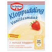 Dr. Oetker Kloppudding Vanille voorkant