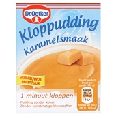 Dr. Oetker Kloppudding Karamel voorkant