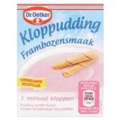 Dr. Oetker Kloppudding Framboos voorkant