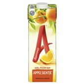 Appelsientje sinaasappelsap voorkant