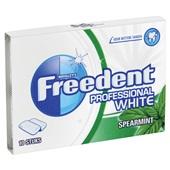 Freedent Kauwgom Professional White Spearmint achterkant