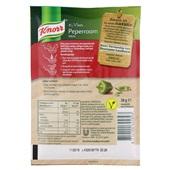 Knorr Groene Pepersaus achterkant