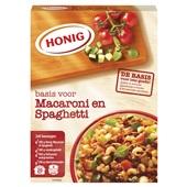 Honig Pastasausmix Macaroni En Spaghetti voorkant
