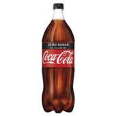 Coca Cola zero fles 1,5 Liter voorkant