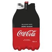 Coca Cola zero 4x1,5 liter voorkant