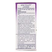 Glade One Touch Luchtverfrisser Duo Lavendel Navulling achterkant