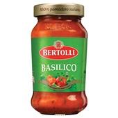 Bertolli pastasaus basilicum voorkant