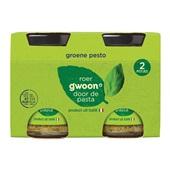 Gwoon groene pesto  2 stuks voorkant