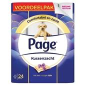 Page toiletpapier  kussenzacht voordeelpak  voorkant