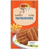 Mora hamburger voorkant