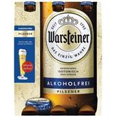 Warsteiner bier  alcoholvrij 6x33cl  voorkant