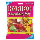 Haribo fruitgom   favourites mix  voorkant