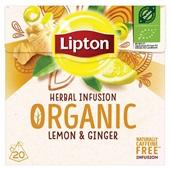 Lipton thee citroen en gember voorkant