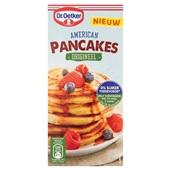 Dr. Oetker pannenkoek mix  American pancakes origineel  voorkant