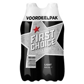 First Choice First Choice cola light 4-pack voorkant