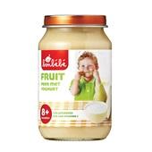 Bonbébé Baby/Peuter Fruithapje Peer Met Yoghurt voorkant